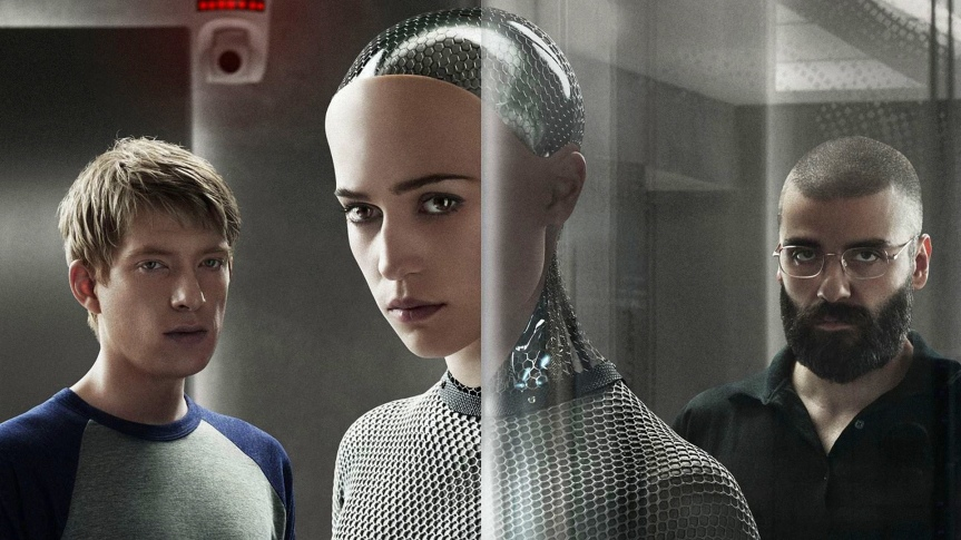 "If Hollywood made ""Ex Machina"" but switched the genders"